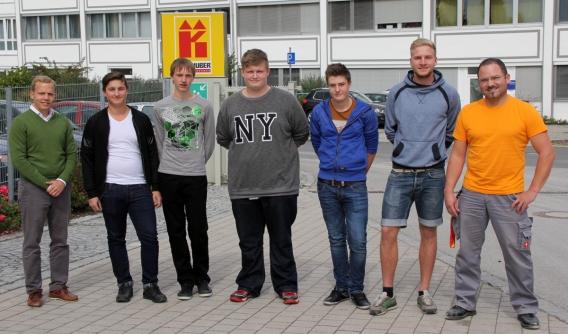 Ausbildungsbeginn 2015, Kellhuber GmbH, Eggenfelden